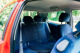 Fiat Punto II 1.2 16V HLX hátsó ülés